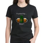 Fueled by Beer Women's Dark T-Shirt