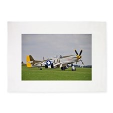 P-51 Mustang (2) 5'x7'Area Rug
