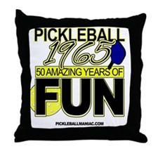 Pickleball Fun Throw Pillow