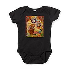 Unique Tea leaves Baby Bodysuit