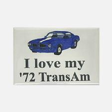 Rectangle '72 TransAm Magnet
