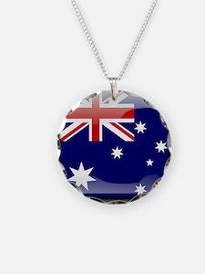Flag of Australia Necklace