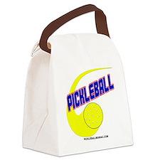 Pickleball Swoosh Canvas Lunch Bag