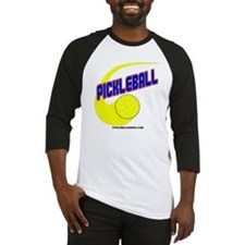 Pickleball Swoosh Baseball Jersey