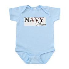 Mom Navy_flag Body Suit