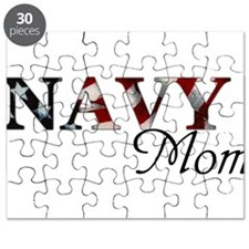 Mom Navy_flag .png Puzzle