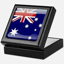 Flag of Australia Keepsake Box