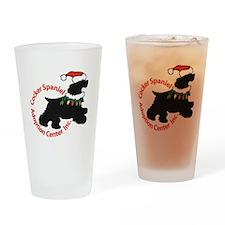 Christmas Logo Drinking Glass