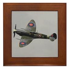 Spitfire Mk.IXb Framed Tile