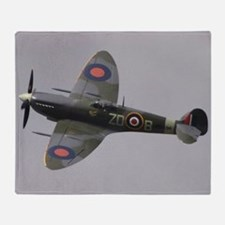 Spitfire Mk.IXb Throw Blanket