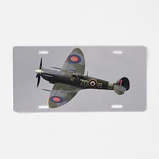 Spitfire Mk.IXb Aluminum License Plate