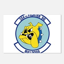 354th_bulldogs.png Postcards (Package of 8)