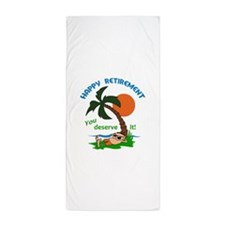 HAPPY RETIREMENT Beach Towel
