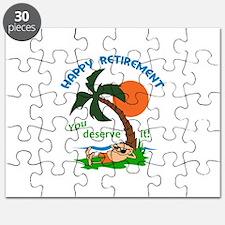 HAPPY RETIREMENT Puzzle