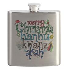 Merry Chrismahannukwanzakah Flask