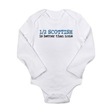 Funny Scottish Onesie Romper Suit