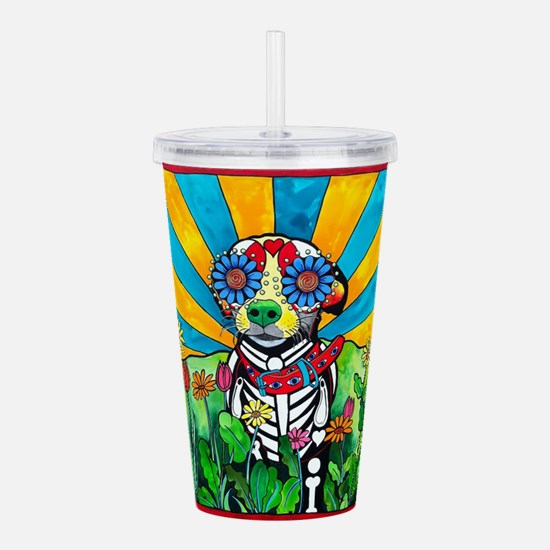 Nacho the Chihuahua Sh Acrylic Double-wall Tumbler