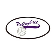VOLLEYBALL SWOOSH Patches