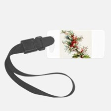 Holly Berries 004 Luggage Tag