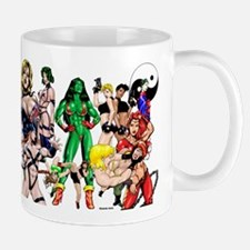 Brawlin' Babes Deluxe Mugs