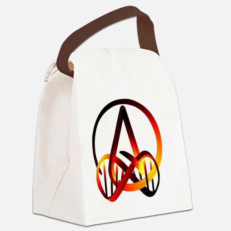 Atheist Forever Canvas Lunch Bag