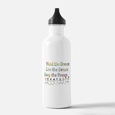 KeepDream10x8.png Water Bottle