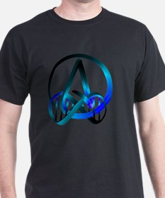 Atheist Forever Blue T-Shirt