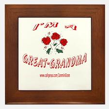 GREAT GRANDMA 1 Framed Tile