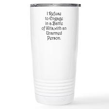 Funny Political humor Travel Mug