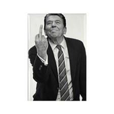 Ronald Reagan Middle Finger Magnets