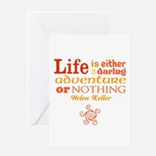 Daring Life Greeting Cards