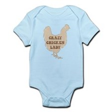 Crazy Chicken Lady Body Suit