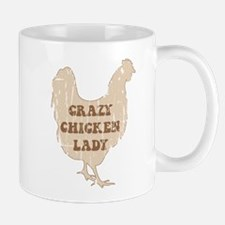 Crazy Chicken Lady Mugs