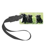 Pug Luggage Tags
