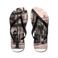 French Quarter Absinthe House Flip Flops