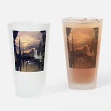 Eleven drives with a lamps boat Drinking Glass
