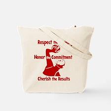 CHERISH WP (both sides) Tote Bag