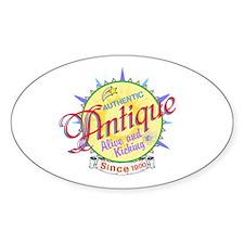 Authentic Antique Decal