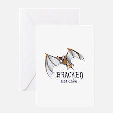 BRACKEN BAT CAVE Greeting Cards