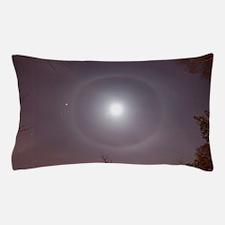 22° Halo Around the Moon Pillow Case