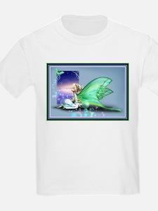Luna Moth Girl T-Shirt