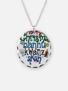 Merry Chrismahannukwanzakah Necklace