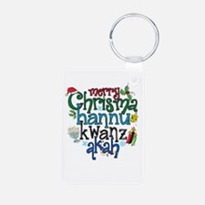 Merry Chrismahannukwanzakah Keychains