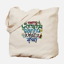 Merry Chrismahannukwanzakah Tote Bag