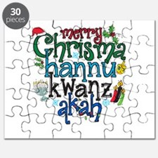 Merry Chrismahannukwanzakah Puzzle
