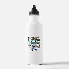 Merry Chrismahannukwanzakah Water Bottle