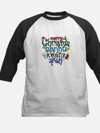 Merry Chrismahannukwanzakah Baseball Jersey