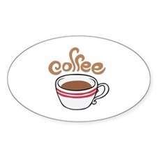HOT COFFEE Stickers