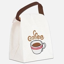 HOT COFFEE Canvas Lunch Bag