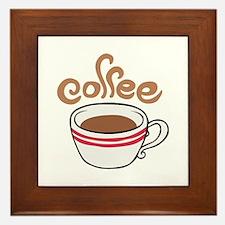 HOT COFFEE Framed Tile